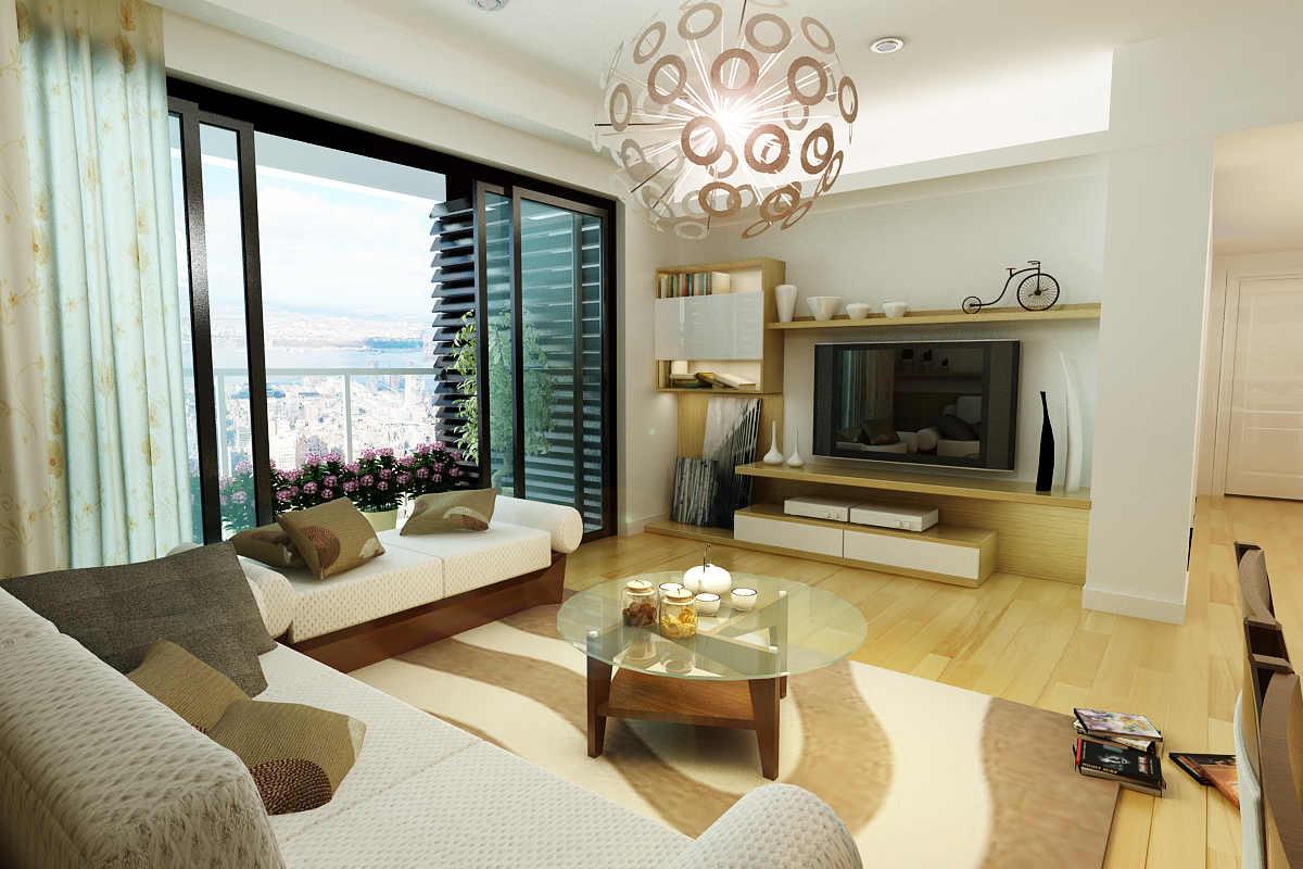 Cho thuê căn hộ 3 ngủ chung cư green star