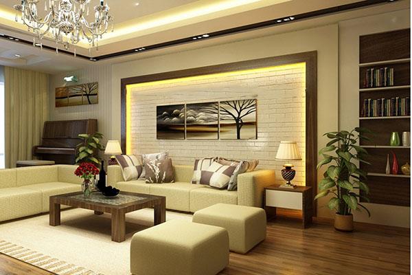 Tạo điểm nhấn cho phòng khách qua phong cách retro.
