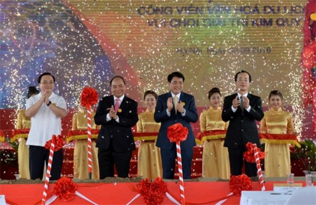 Động thổ dự án công viên Kim quy - Đông Anh - Hà Nội
