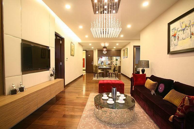 Thiết kế căn hộ Hòa Bình Green City