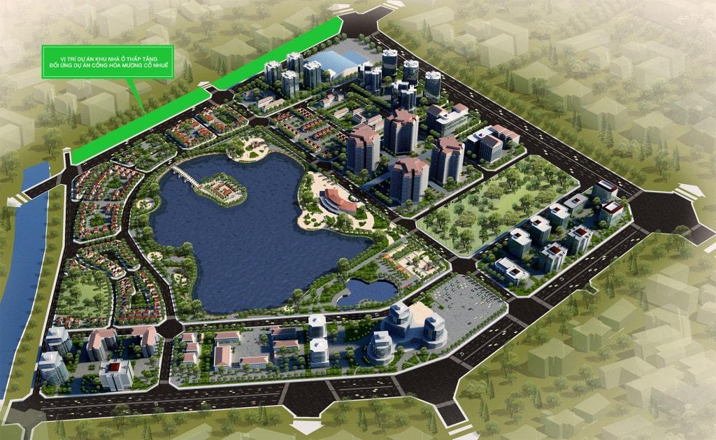 Khu đô thị Thành Phố Giao Lưu 232-234 Phạm Văn Đồng - Hà Nội