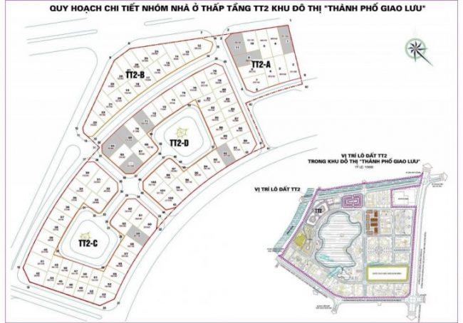 Bán biệt thự TT2 Thành Phố Giao Lưu giá chỉ từ 15 tỷ