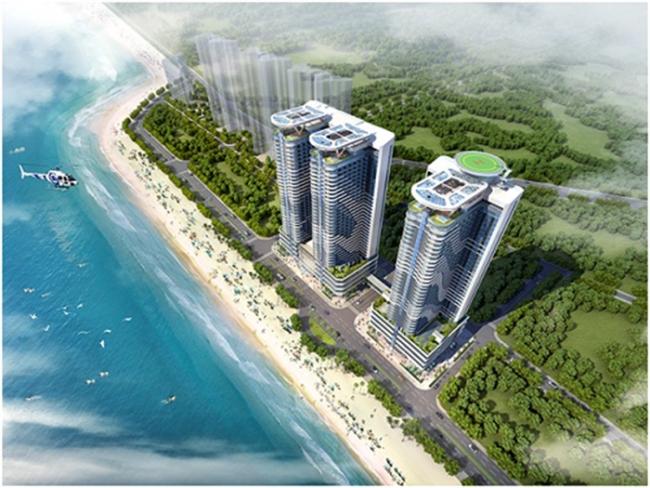 Giá bán căn hộ dự án Swisstouches La Luna Resort Nha Trang